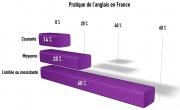 Combien de français maîtrisent l'anglais ?